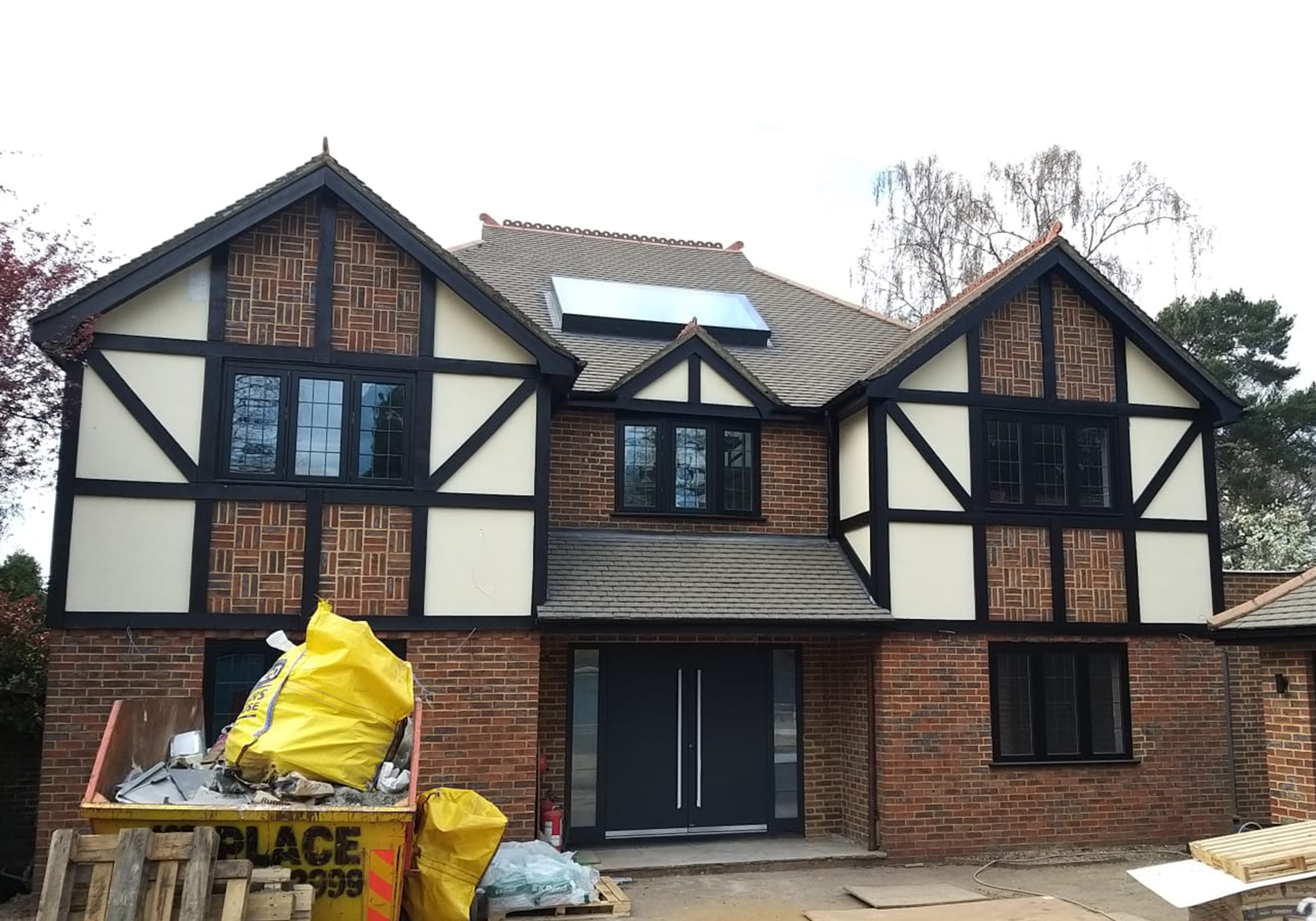 pure glass glazing in weybridge home