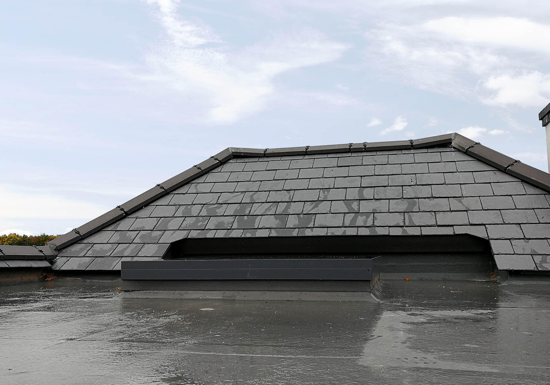 leatherhead exact flat roof light