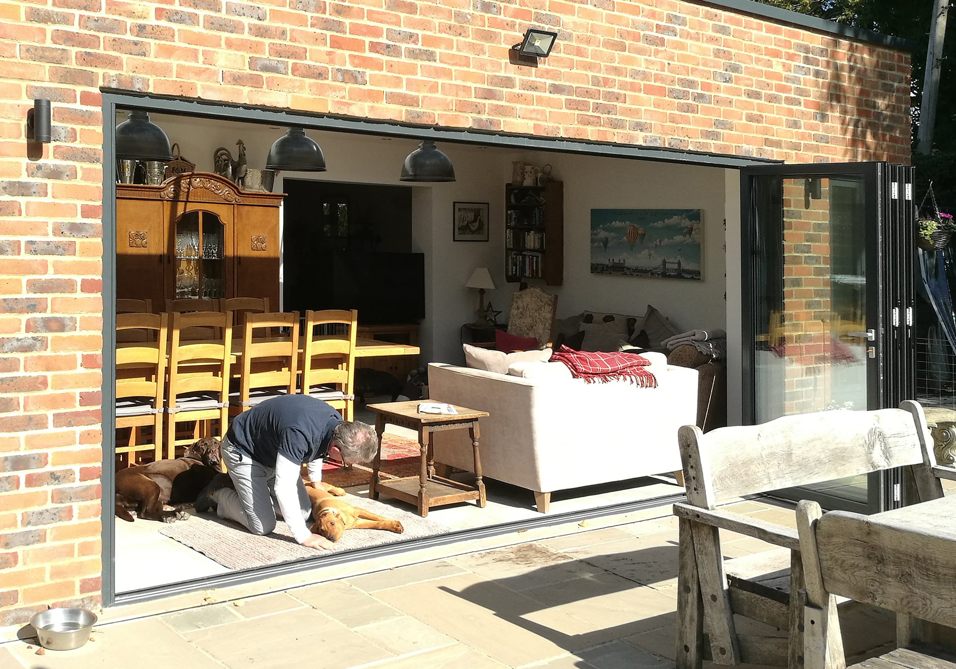 oxted bifold door