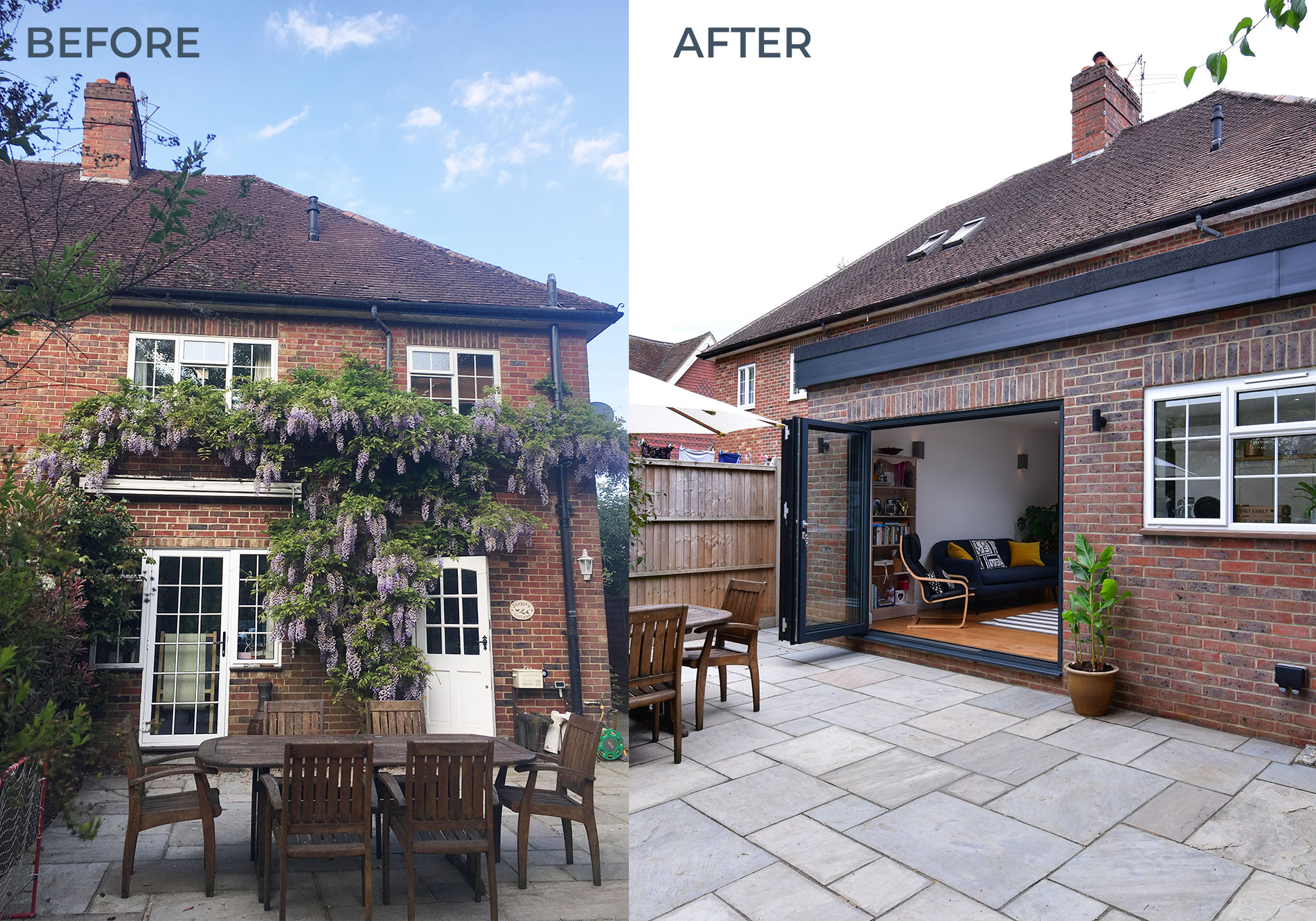 before and after exact architectural glazing makeover