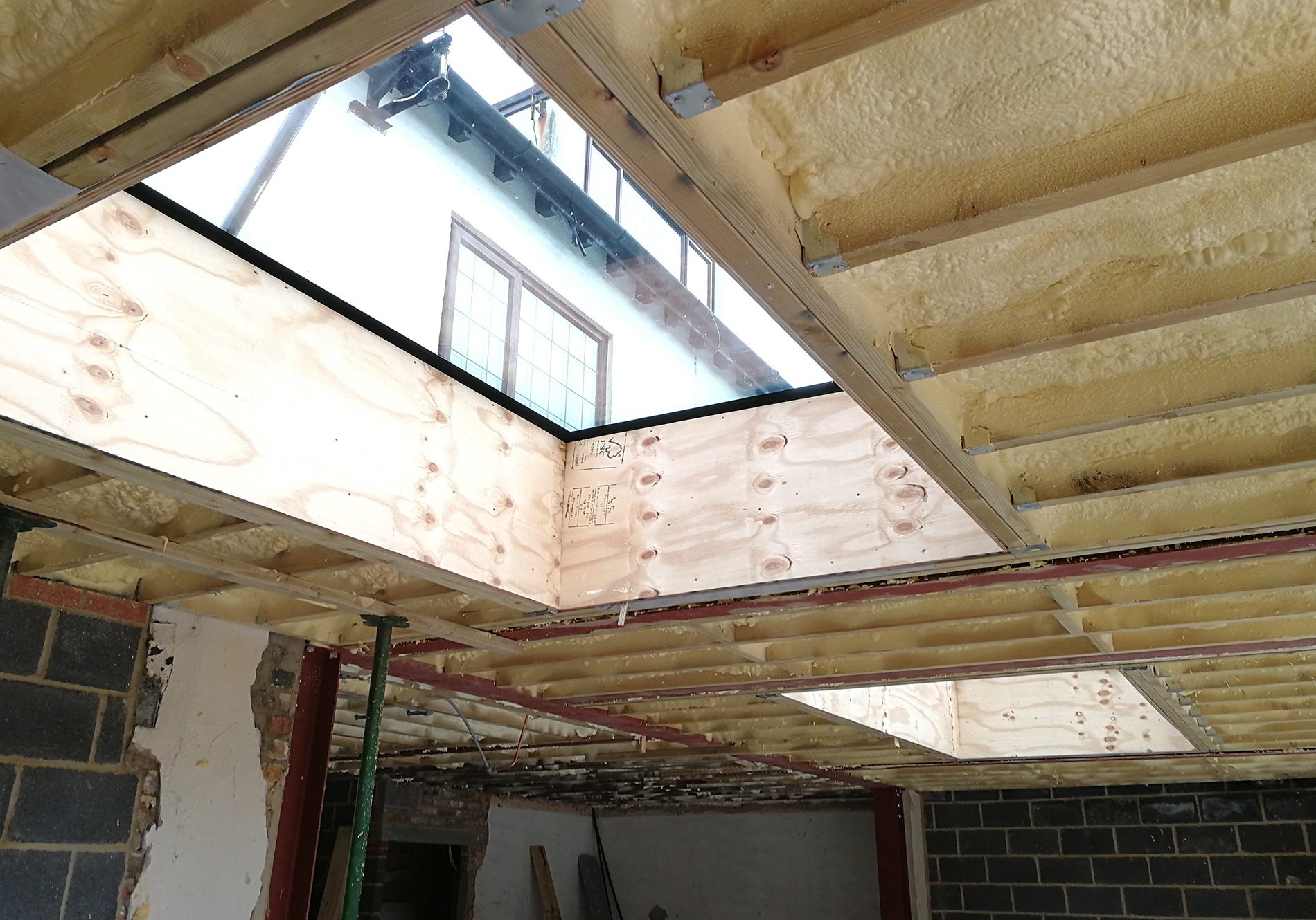 Adding Natural Light To A Rear Extension Exact Architectural Glazing