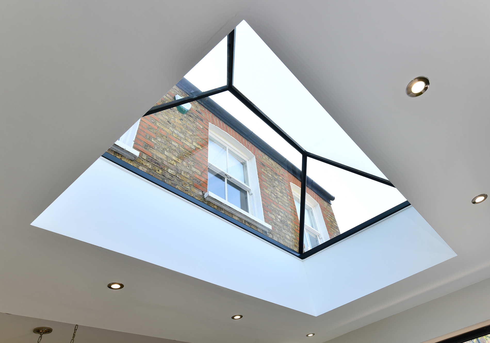 Pure Glass Lantern by Exact Architectural Glazing