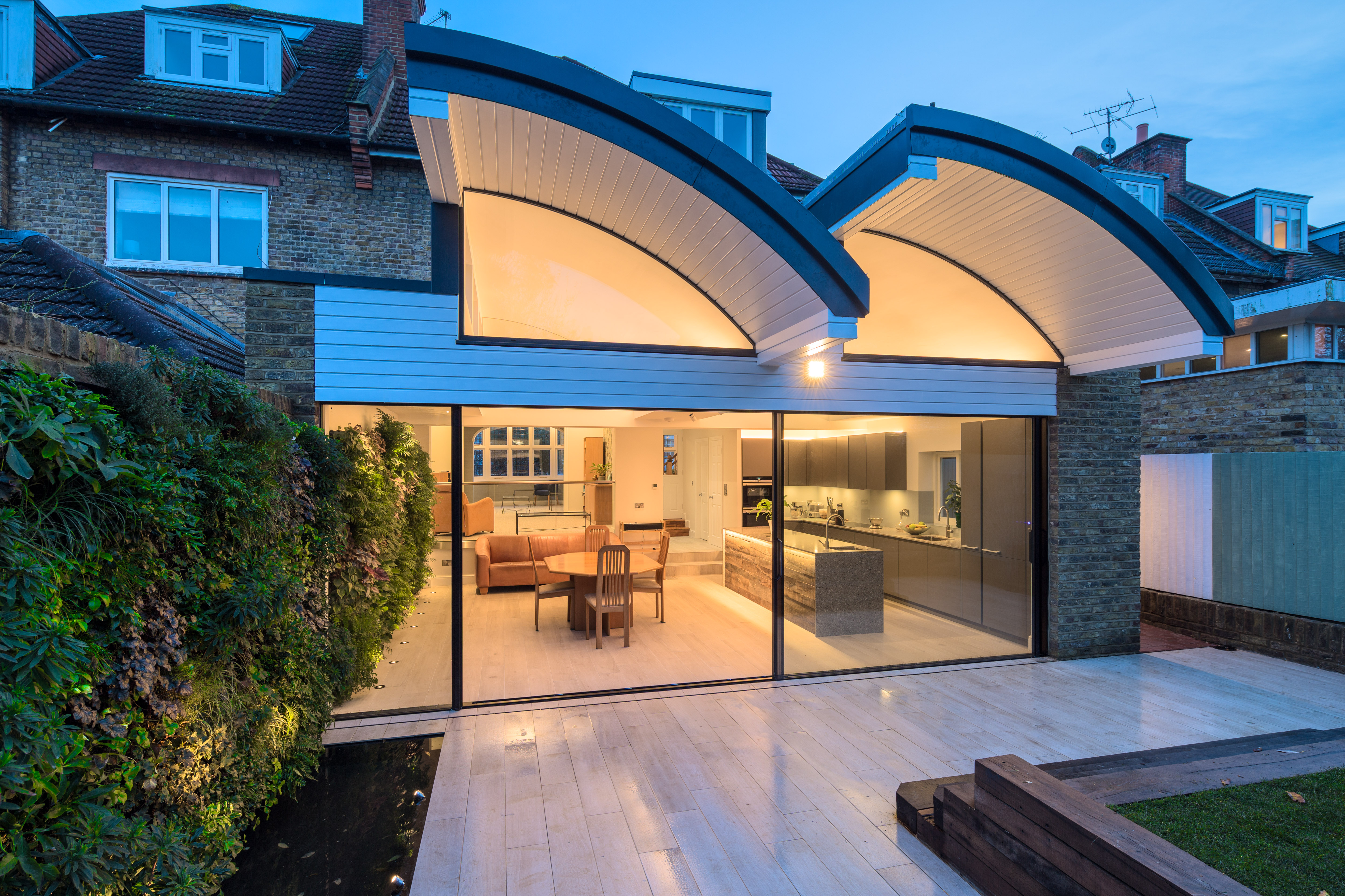 Stunning use of HiFinity sliding doors in our recent Wandsworth project