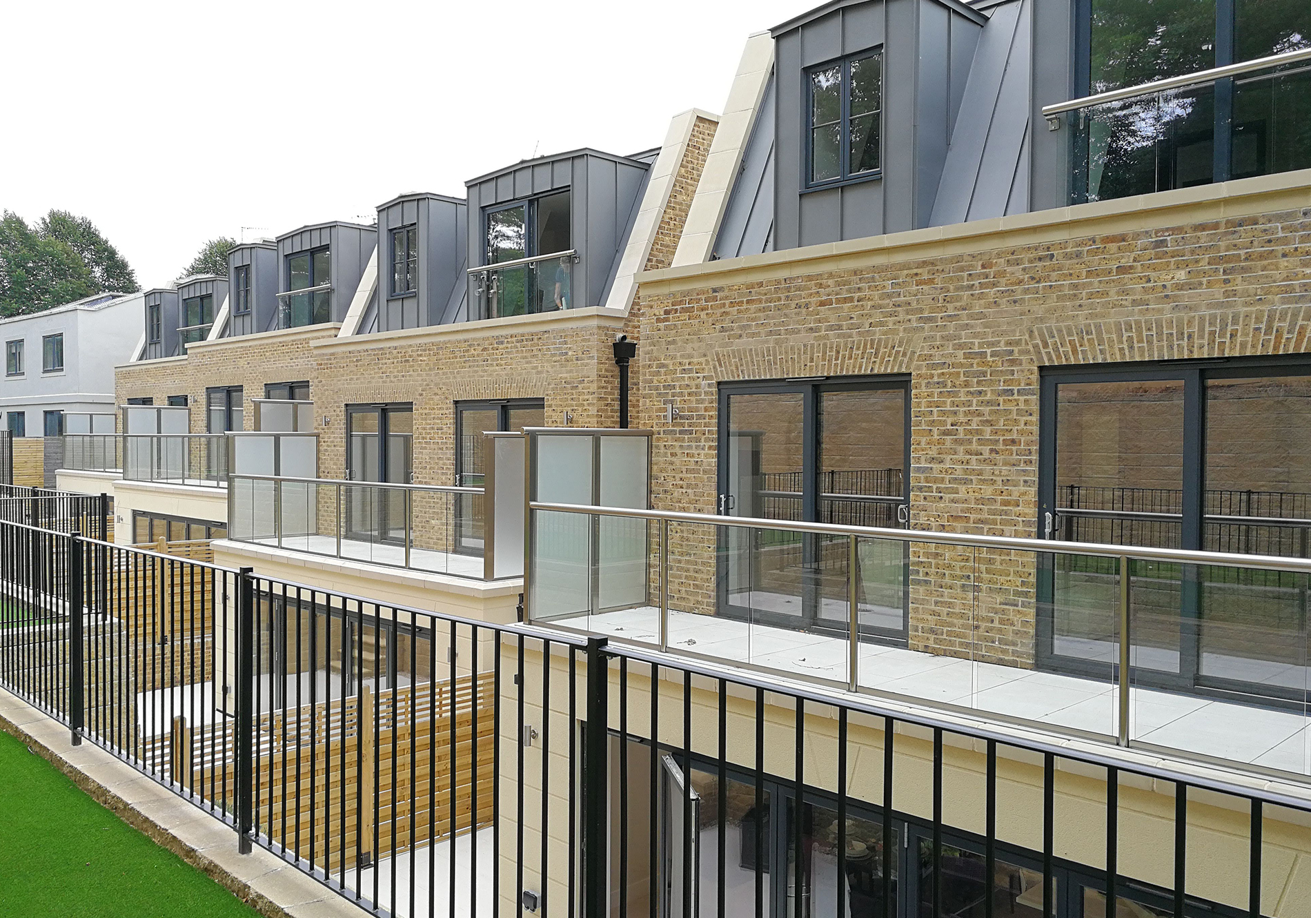 glazing for luxury homes development