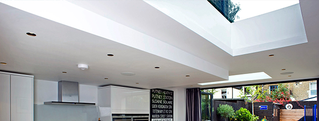 Flat Glass Roof Light : XACT