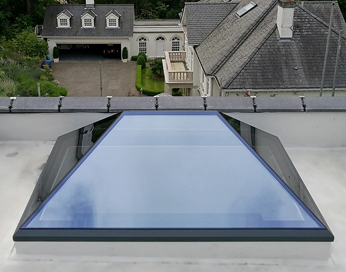 Xact Pure Glass Roof Lantern Xact Xact