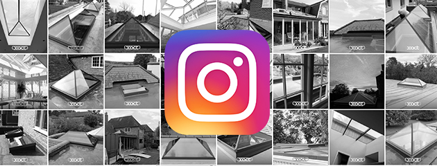 XACT are now on instagram! Sharing images of our latest roof glazing installations
